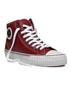 Look at this #zulilyfind! Red Center Hi Sneaker - Women & Men by PF Flyers #zulilyfinds  $34.99