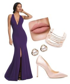 """""""Untitled #22"""" by klara-proch on Polyvore featuring White House Black Market, Jimmy Choo, Alexis Bittar and Trilogy"""