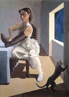 View The Policemans Daughter by Paula Rego on artnet. Browse more artworks Paula Rego from Saatchi Gallery. Paula Rego Art, Figure Painting, Painting & Drawing, Infinite Art, Saatchi Gallery, New Museum, Illustration, Art Graphique, Fine Art