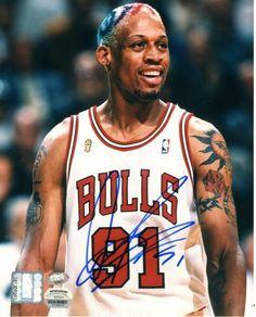 Dennis Rodman Autographed 8x10 Photo #SportsMemorabilia #ChicagoBulls