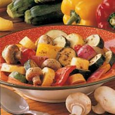Grilled Dijon Summer Squash Recipe