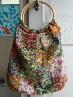 Liberty patchwork bag
