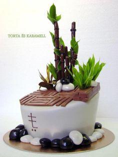 lucky bamboo cake