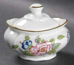 Aynsley, John Pembroke (Gold Trim) Individual Sugar Bowl & Lid