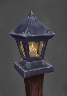 Wow Fan art - Lamp post by AntonioNeves.deviantart.com on @DeviantArt