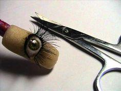 ~  Make 3d acrylic eye. She does amazing work! ~