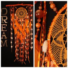 Dreamcatcher Orange Boho Dream Catcher Large crochet gift dreamcatcher gift wedding ceremony photo backdrop Dreamcatcher Bohemian handmade This amulet like Dreamcatcher - is not just a decoration of the interior. It is a powerful amulet, which is endowed with many properties: - Dreamcatcher protects and ensures a healthy sleep to the owner; Dreamcatcher helps in practice lucid dreaming. It helps to recognize himself in a dream, as well as protects from negative influences; Dreamcatch
