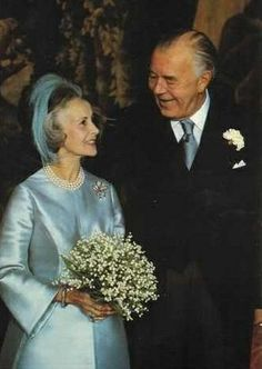 Prince Bertil and Princess Lilian of Sweden, Duke and Duchess of Halland