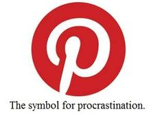 The symbol for procrastination.