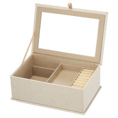 A and B Home Vintage Lace Jewelry Box - 40168