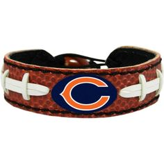 GameWear Chicago Classic Football Bracelet