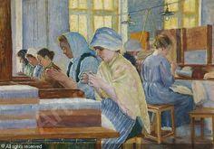 Anna Sahlsten (1859-1931) Handicrafts 1911 - Finland