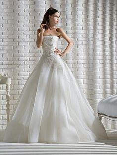 Vestito da sposa ballgown