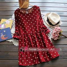 Buy 'Flower Idea – Heart-Print Dress' with Free International Shipping at YesStyle.com. Browse and shop for thousands of Asian fashion items from China and more!
