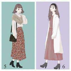Ideas for fashion sketches winter inspiration Urban Fashion, Fashion Art, Editorial Fashion, Trendy Fashion, Fashion Models, Boho Fashion, Girl Fashion, Fashion Dresses, Fashion Design