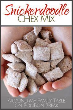 Snickerdoodle Chex Mix recipe