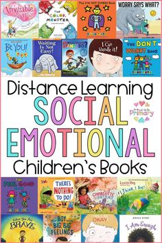 Social-emotional activities can support distance learning at home. Grab your free copy of the SEL distance learning pack and editable calendar and children's book list! Social Emotional Activities, Social Emotional Development, Learning Activities, Emotions Activities, Emotional Support Classroom, Emotions Preschool, Movement Activities, Counseling Activities, Physical Activities