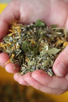 Nesting Box Blend- let herbs and flowers help to keep your chickens pest free.