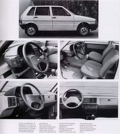 1984 Fiat Uno. My second car and my first love. Year was 1991.