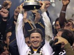 Beckham.  Another season with the LA Galaxy!