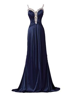 Dresstells V Neck Prom Dress Satin Evening Gown Long Bridal Dress Navy Size 8 Dresstells http://www.amazon.com/dp/B00PVXR1CG/ref=cm_sw_r_pi_dp_.OgWvb01C3SF0