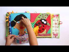 Libro tattile, quiet book by Martafrida - YouTube