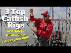 Catfish rigs for fishing for blues, channels and flathead catfish. All the catfish rigs you need to know for all the most effective catfishing techniques. Crappie Fishing Tips, Catfish Fishing, Fishing 101, Fishing Rigs, Gone Fishing, Best Fishing, Surf Fishing, Fishing Stuff, Fishing Boats