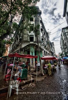 When wandering down any street in downtown Yangon the curious will find architectural gems and Burmese idiosyncrasies Colonial Architecture, Yangon, Burmese, Southeast Asia, Geography, Wander, Buildings, Old Things, Around The Worlds