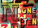 One In Ten – Illustrators & Artists Agents – Début Art - Graphic Design