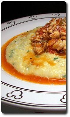 Culinary in the Desert: Chicken Ragu with Polenta