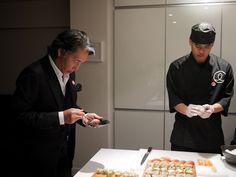 Sushi Shop Red Box par Kenzo Takada