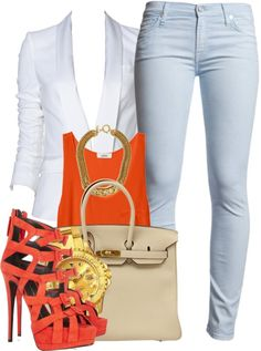"""""""Crème of the Crop."""" by snake-biter ❤ liked on Polyvore-Hot A*$ outfit"""
