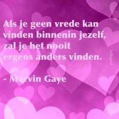 Vrede vinden - Marvin Gaye