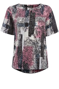 Clothing | Other TEXTURE PRINT TOP | Warehouse