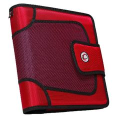"I'm learning all about Case It Inc. Case it 2"" Binder with Tabbed Closer - Red at @Influenster!"