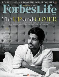 The Up-and-Comer Sidharth Malhotra looks dapper in the Forbes Life cover | PINKVILLA