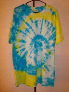 Tie Dye Shirt  Adult Large by TexasTieDyeGuy on Etsy, $13.99