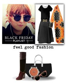 "Black Friday Playlist'  My Fashion Collection is made to feel Good""  *See 100 more looks'     Feel Good Fashion @ www.marijkeverkerkdesign.nl"