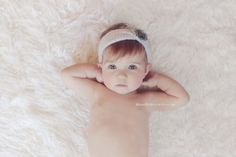 Beautiful one-year-old session by Tisha Johnson.
