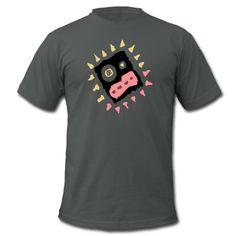 """... do it your way ... und deswegen brauchst du auch ein kühnes """"Scary Face """"  Motiv auf deinem Shirt ... """"Scary Face"""" wurde von """"Crazy Banana"""" kreiert. Flexdruck (glatt), 21,8 cm x 23,1 cm"""