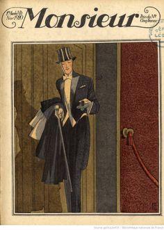 Monsieur Magazine. 1920.