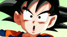 Trunks and Goten fuse into Gotenks