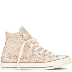 Chuck Taylor Snowflake Sparkle converse high tops Mode Tendance be7b5fa32