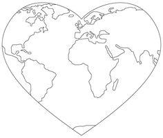 free digital stamps...great website!world heart