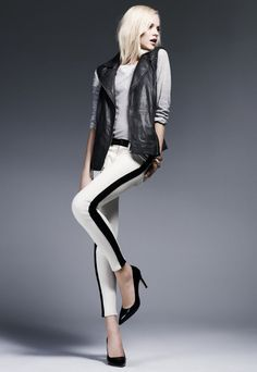 @HUDSON Jeans LeeLoo pant, available exclusively at Bloomingdale's!