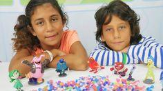Oyun Diyarı - Ali Cem ve Azra ile yeni oyuncaklar.Çocuk oyunları.Çocuk v...