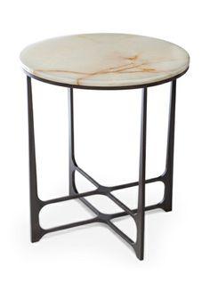 William Yeoward - Malvina Side Table  (simple yet elegant....make using wood)