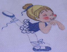 Ballerina Principessa Whiskers Punto Croce Kit