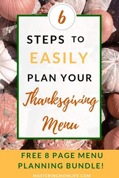 Want to make a delicous Thanksgiving dinner? Find out my 6 steps on how to plan your Thanksgiving menu like a boss. Thanksgiving Traditions, Thanksgiving Menu, Family Traditions, Parenting Plan, Parenting Styles, Parenting Quotes, Parenting Hacks, Christmas Cookies Gift, Holiday Planner