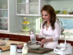 ▶ Raspberry-Ricotta Mousse-Food Network - YouTube